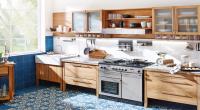 Landhausküche mit Range Cooker Eiche