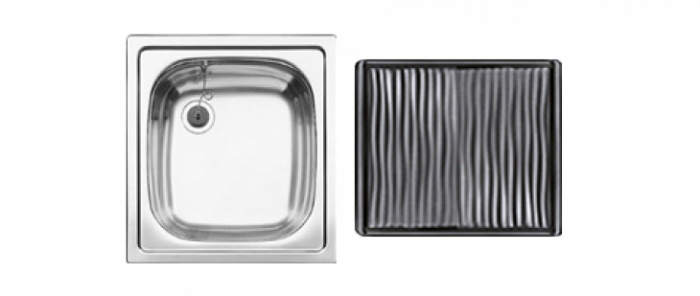 Spüle Blanco EE4x4 mit Abtropffläche