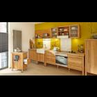 Holzküche im Landhausstil Kernbuche