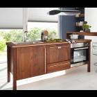 Kücheninsel I1.1mit Herdset, Spüle und Geschirrspüler